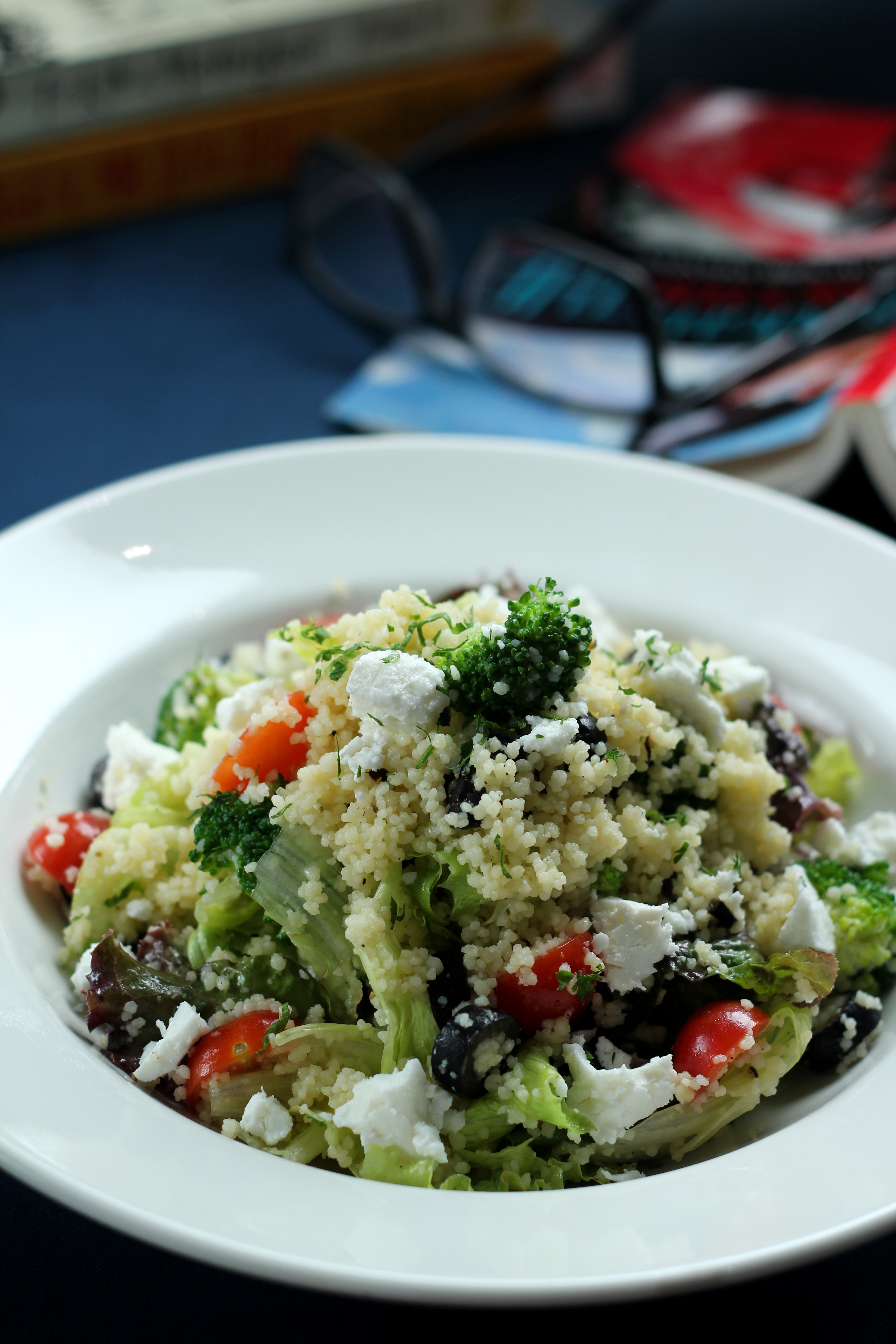 MINTED COUSCOUS SALAD